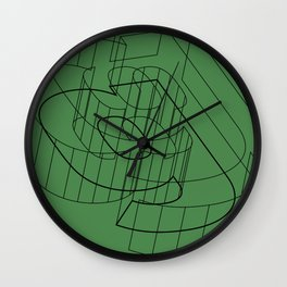 g like green Wall Clock