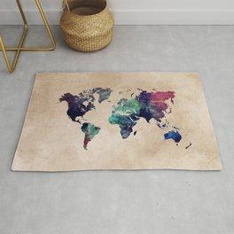 Cold World Map #map #worldmap Rug