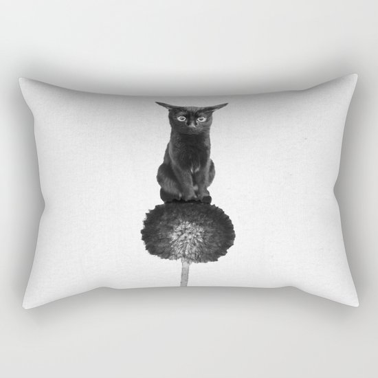 Do not blow! Rectangular Pillow