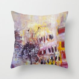 Its a Delicate Love Throw Pillow