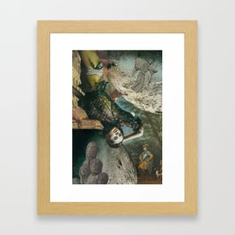 Big Girl's Blouse Framed Art Print