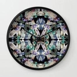 Crystal Pattern Wall Clock