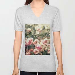vague memory and roses Unisex V-Neck