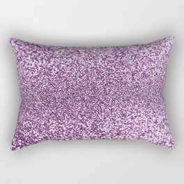 Elegant purple lilac abstract glitter bokech pattern Rectangular Pillow
