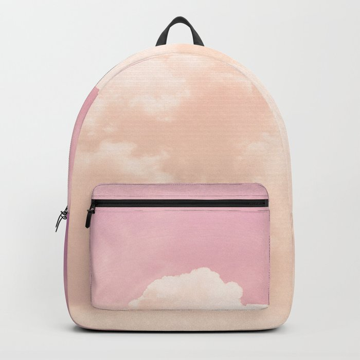 Freedom and Dreams, Pink Sky and Clouds, Heaven Backpack