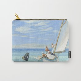 Edward Hopper Ground Swell 1939 Painting Carry-All Pouch
