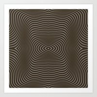 tree rings Art Prints featuring Tree Rings by Morgan Bajardi