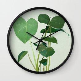 Plant 3 Wall Clock