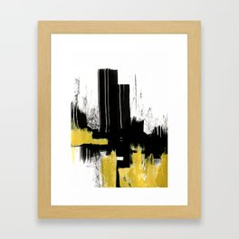 Ink abstract Framed Art Print