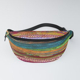 Indian Colors Fanny Pack
