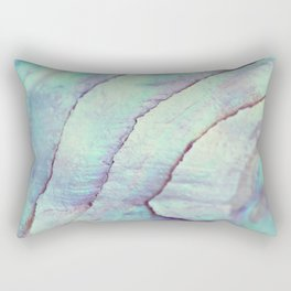 IRIDISCENT SEASHELL MINT by Monika Strigel Rectangular Pillow