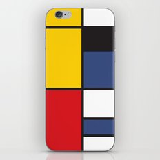 Mondrian 3 iPhone & iPod Skin