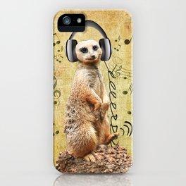 Jammin' Meerkat iPhone Case