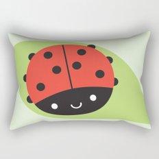 Kawaii Ladybird Rectangular Pillow