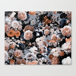 Natural Flowers Canvas Print