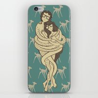 bambi iPhone & iPod Skins featuring Bambi by Shirley Hernandez