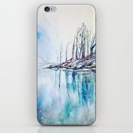 The other side of the mountain iPhone Skin