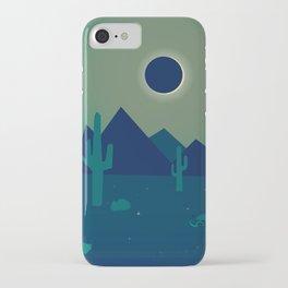 Desert Eclipse iPhone Case
