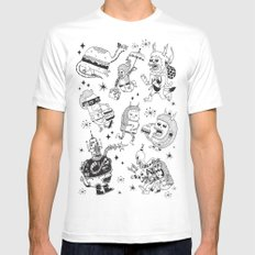 Frenemies MEDIUM White Mens Fitted Tee