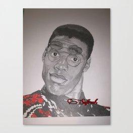 Dwayne Wayne Canvas Print