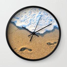 Follow Me To Paradise Wall Clock