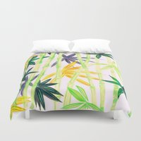 bamboo Duvet Covers featuring Bamboo by Federico Faggion