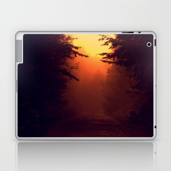 One Foggy Morning Laptop & iPad Skin