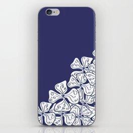 VioletFlowers iPhone Skin