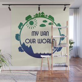 My Van Our World -  Ocean Wall Mural