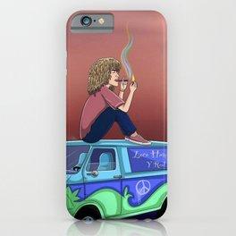 Jon z - loco humilde y real iPhone Case