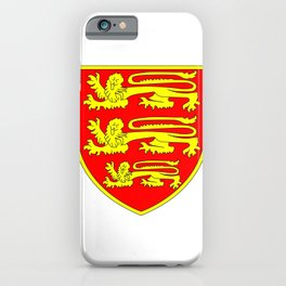 British Three Lions Shield iPhone Case