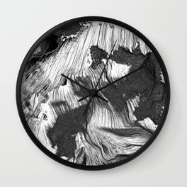 Breath 1 Wall Clock