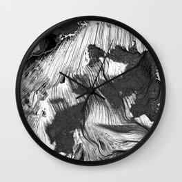 Breath 1 Wall Clock