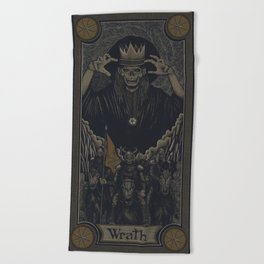 WRATH Beach Towel