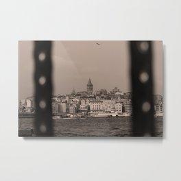 Galata Tower ,Istanbul/TURKEY Metal Print