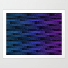 spaceglitch Art Print