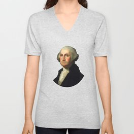 George Washington - Rembrandt Peale Unisex V-Neck