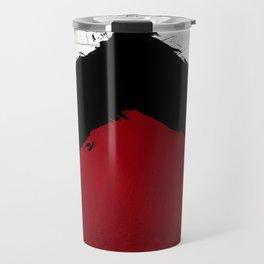 BLOOD RED RIBBON Travel Mug