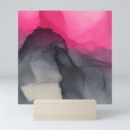 Purple Mountains majesty Mini Art Print