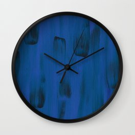 Blueberry Abstract Wall Clock