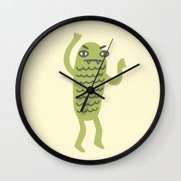Swamp Monster! Wall Clock