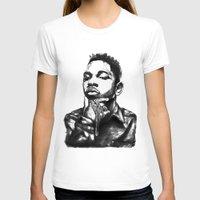 kendrick lamar T-shirts featuring Kendrick Lamar Lithograph by Drewnelz