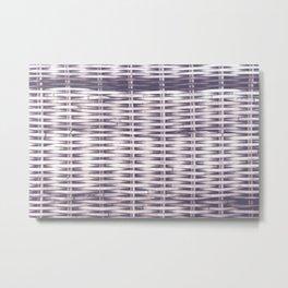 Woven Pale Metal Print