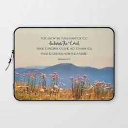 Jeremiah 29:11 Laptop Sleeve