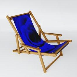 Expansion Blue rose flower Sling Chair