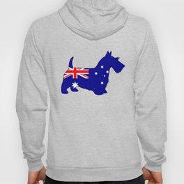Australian Flag - Scottish Terrier Hoody