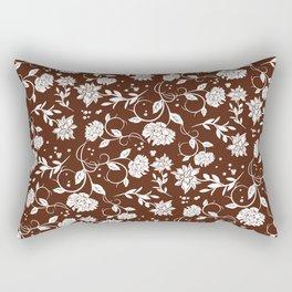 Poetry Garden Flower Rectangular Pillow