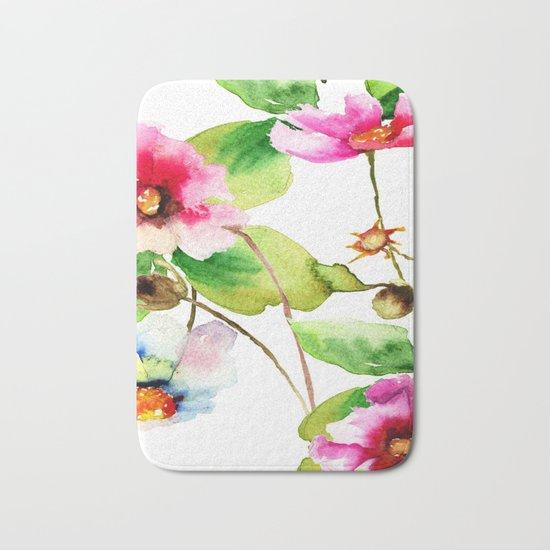 Flowers 03 Bath Mat