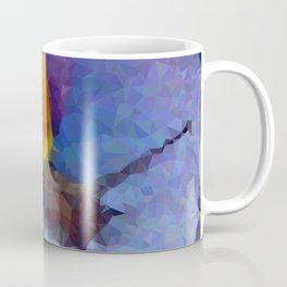 Geometric Snail On Flower Coffee Mug