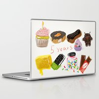 android Laptop & iPad Skins featuring android  by leonov andrew